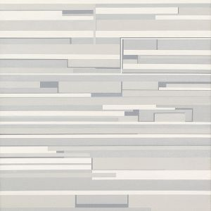 "SoundStills #1 – Morton Feldman ""Patterns In A Chromatic Field [1981], 2005 Acryl auf Leinwand, 120 x 100 cm"